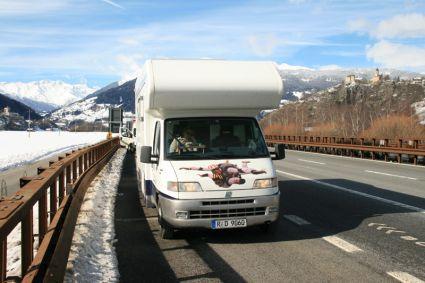italienreise mit dem wohnmobil im winter vagabundo reisen. Black Bedroom Furniture Sets. Home Design Ideas