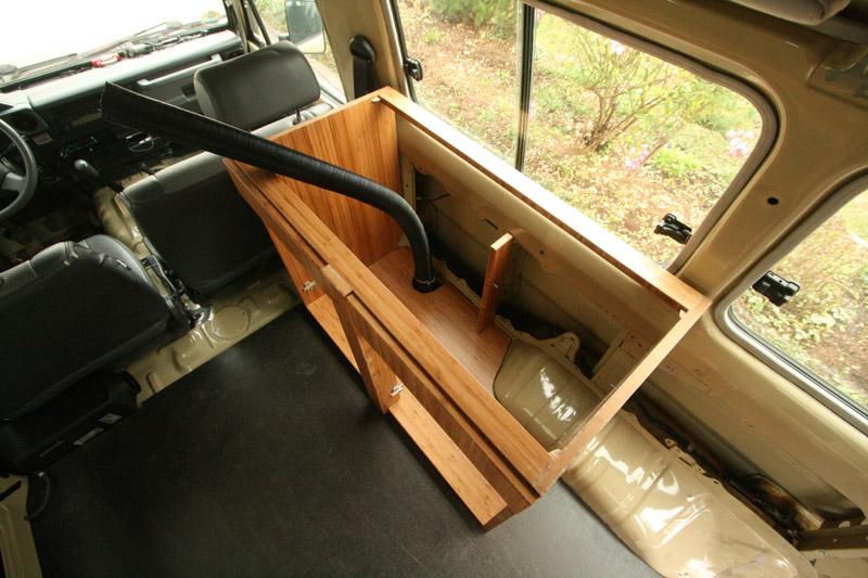 einbau webasto diesel cooker x 100 vagabundo reisen. Black Bedroom Furniture Sets. Home Design Ideas