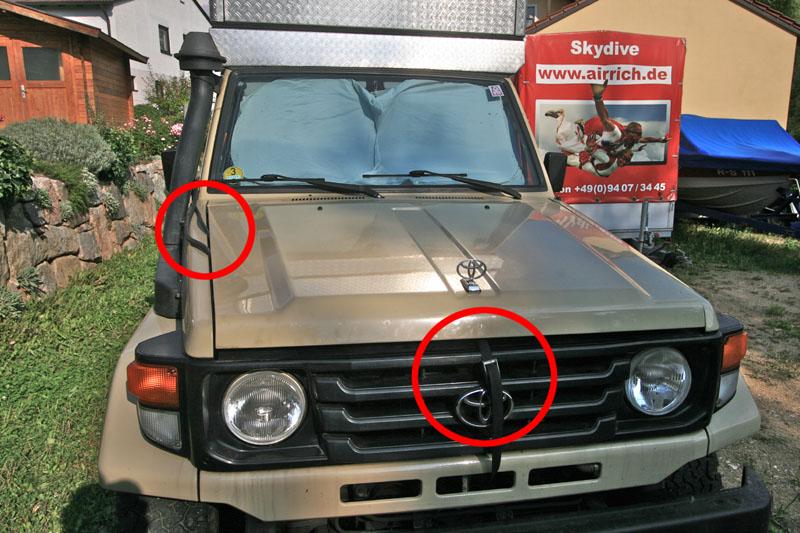 5 Liter Kanister >> Toyota Landcruiser HZJ 78 Buschtaxi bringt keine Leistung mehr und raucht - Vagabundo Reisen
